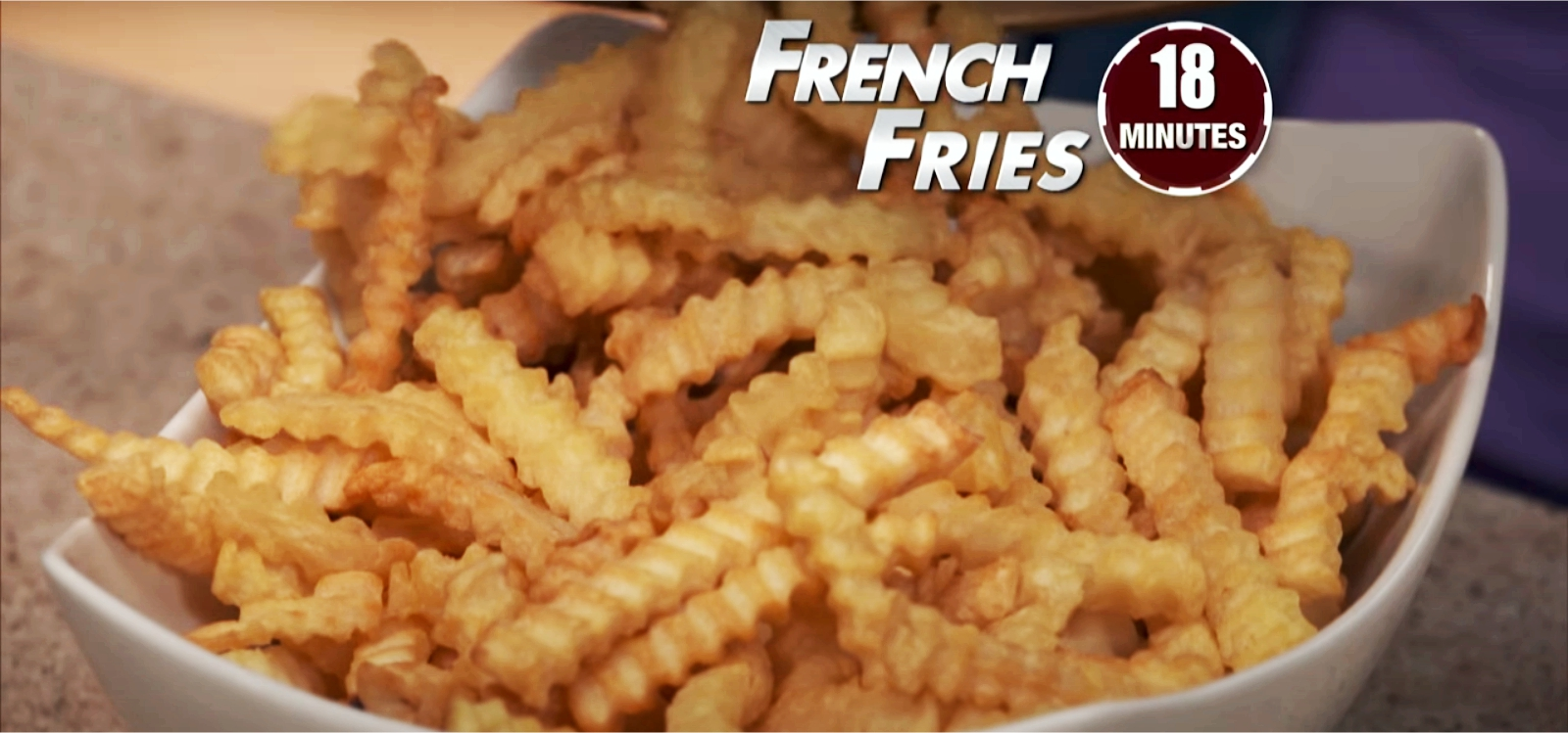 french fries made from power air fryer