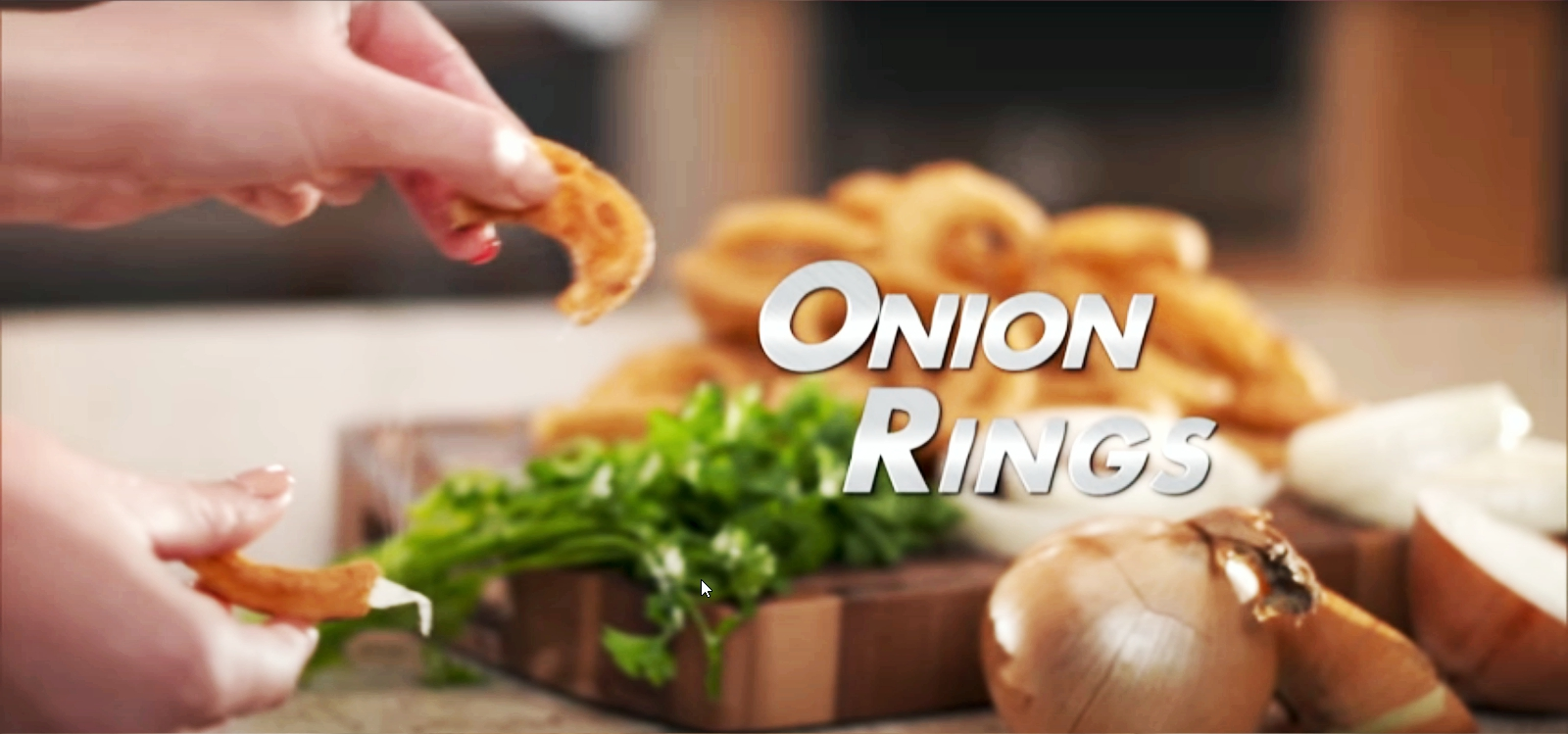 onion rings made from power air fryer