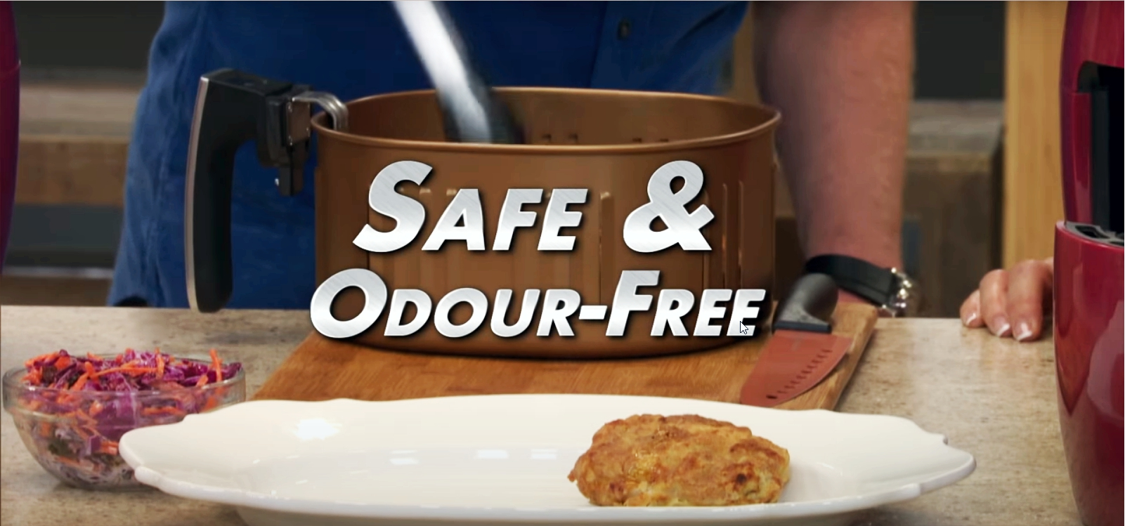 power air fryer is safe and odour free