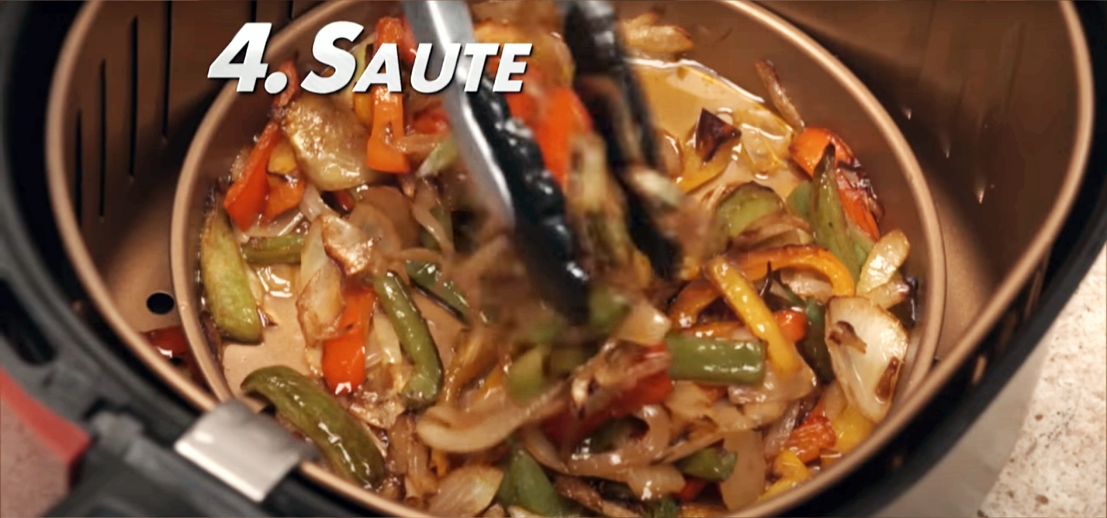 saute with power air fryer