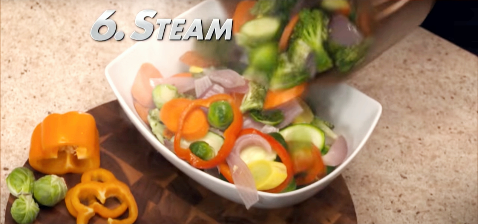 steam with power air fryer