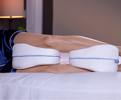 legacy pillow provides double comfort