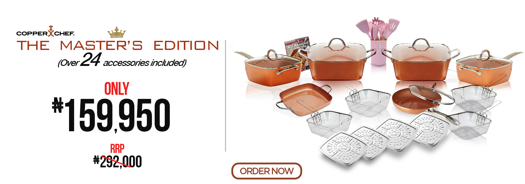 Copper Chef master Collection